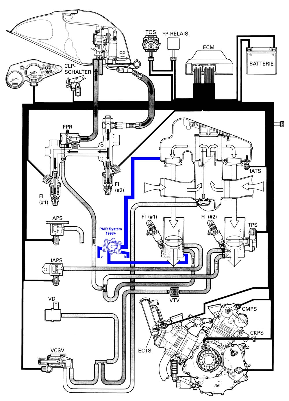 Suzuki Xl7 Fuel Line Diagram moreover 2000 Pontiac Montana Engine Diagram likewise Chevy Hhr Starter Wiring Diagram furthermore 4 3l V6 Vortec Engine Block Diagram furthermore Kia Sportage Egr Valve Location As Well 2004. on suzuki forenza vacuum hose diagram